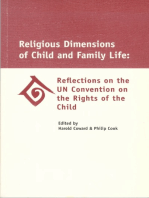 Religious Dimensions of Child and Family Life