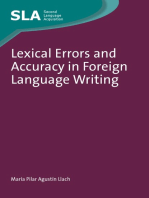 Lexical Errors and Accuracy in Foreign Language Writing