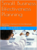 Small Business Effectiveness Planning