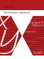 Ad Hominem Arguments