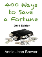 400 Ways To Save A Fortune