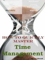 How to Quickly Master Time Management