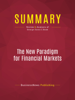 Summary: The New Paradigm for Financial Markets: Review and Analysis of George Soros's Book