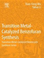 Transition Metal-Catalyzed Benzofuran Synthesis