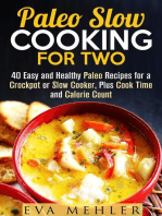 Paleo Slow Cooking for Two