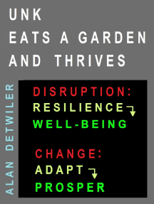 Unk Eats A Garden And Thrives; Disruption: Resilience> Well-Being; Change: Adapt> Prosper: Enjoy Ideal Vegetable Food