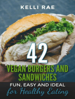 42 Vegan Burgers and Sandwiches
