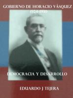 El Gobierno de Horacio Vásquez