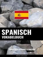 Spanisch Vokabelbuch