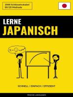 Lerne Japanisch