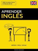 Aprender Inglés: Rápido / Fácil / Eficaz: 2000 Vocablos Claves