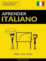 Aprender Italiano: Rápido / Fácil / Eficaz: 2000 Vocablos Claves