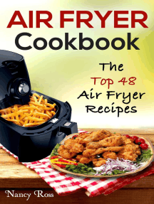 Air Fryer Cookbook: The Top 48 Air Fryer Recipes