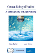 Common Heritage of Mankind: A Bibliography of Legal Writing