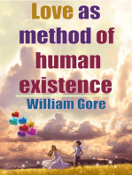 Love as Method of Human Existence