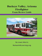 Buckeye Valley, Arizona Firefighter Exam Review Guide