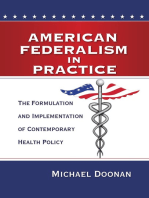 American Federalism in Practice
