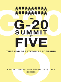 The G-20 Summit at Five: Time for Strategic Leadership