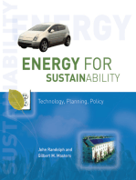 Energy for Sustainability