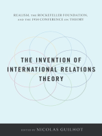 The Invention of International Relations Theory
