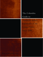 The Columbia Guide to American Indian Literatures of the United States Since 1945