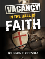 Vacancy In The Hall Of Faith