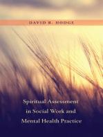 Spiritual Assessment in Social Work and Mental Health Practice