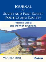 Journal of Soviet and Post-Soviet Politics and Society