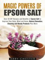 Magic Powers of Epsom Salt