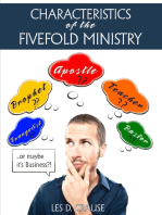 Characteristics of the Fivefold Ministry