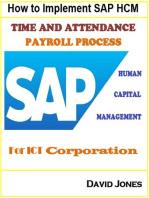 How to Implement SAP HCM- Time Attendence And Payroll Processes for ICT Corporation