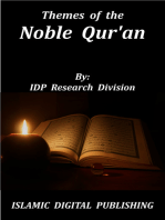 Themes of the Noble Qur'an