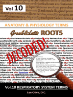 Anatomy & Physiology Terms Greek&Latin ROOTS DECODED! Volume 10 Respiratory System Terms