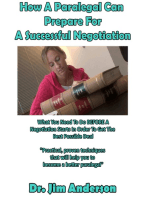 How A Paralegal Can Prepare For A Successful Negotiation