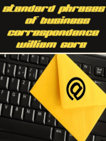 Standard Phrases of Business Correspondence