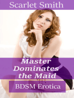 Master Dominates the Maid