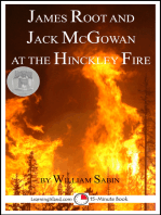 James Root and Jack McGowan at the Hinckley Fire