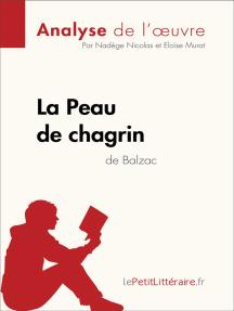 La Peau de chagrin d'Honoré de Balzac (Analyse de l'oeuvre): Comprendre la littérature avec lePetitLittéraire.fr
