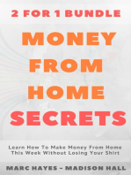 Money From Home Secrets (2 for 1 Bundle)