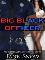 Big Black Officer (Interracial Black M/White F Erotic Story)