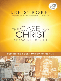 The Case for Christ Answer Booklet