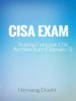 CISA Exam-Testing Concept-OSI Architecture (Domain-5)