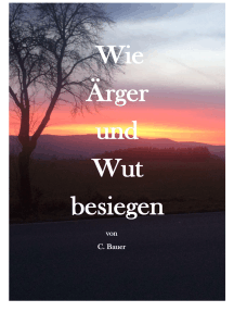 Wie Ärger und Wut besiegen