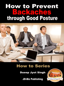 How to Prevent Backaches through Good Posture