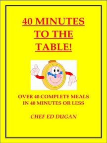 40 Minutes to the Table
