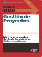 Guías HBR: Gestión de Proyectos