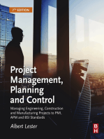 Project Management, Planning and Control