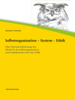 Selbstorganisation – System – Ethik