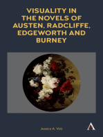 Visuality in the Novels of Austen, Radcliffe, Edgeworth and Burney