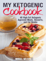 My Ketogenic Cookbook